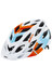 Alpina D-Alto Helm white-orange-blue